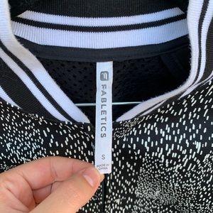 Fabletics Jackets & Coats - Fabletics Constellation Mesh Tia Bomber Jacket S